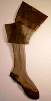 Ett par strumpor för kvinna.