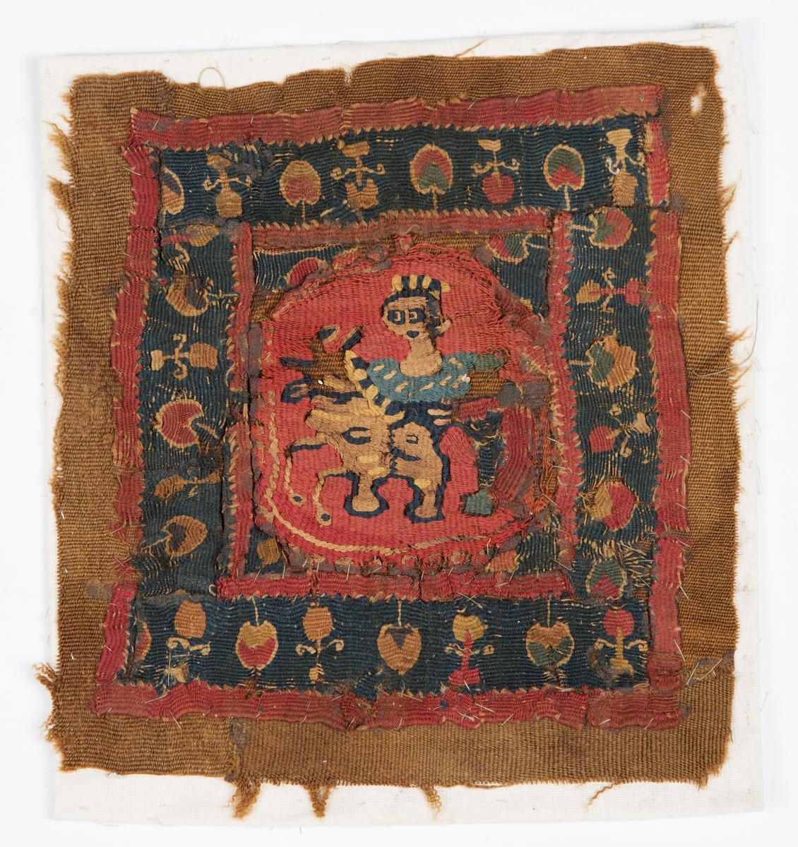 """Koptisk tekstilfragment"" (Foto/Photo)"