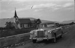"""""""Raknes 1959"""".""""Brudlaup Ørsta 1959"""".Nordre Vartdal kirke."""