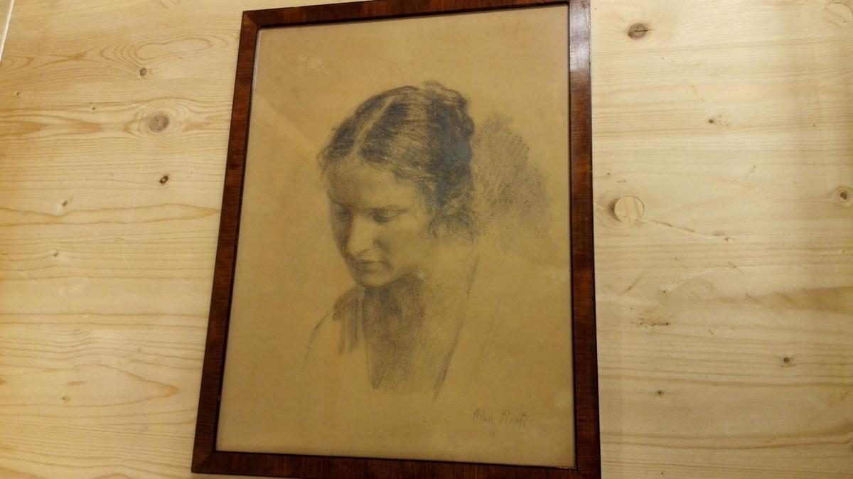 Portrett av gjevaren.