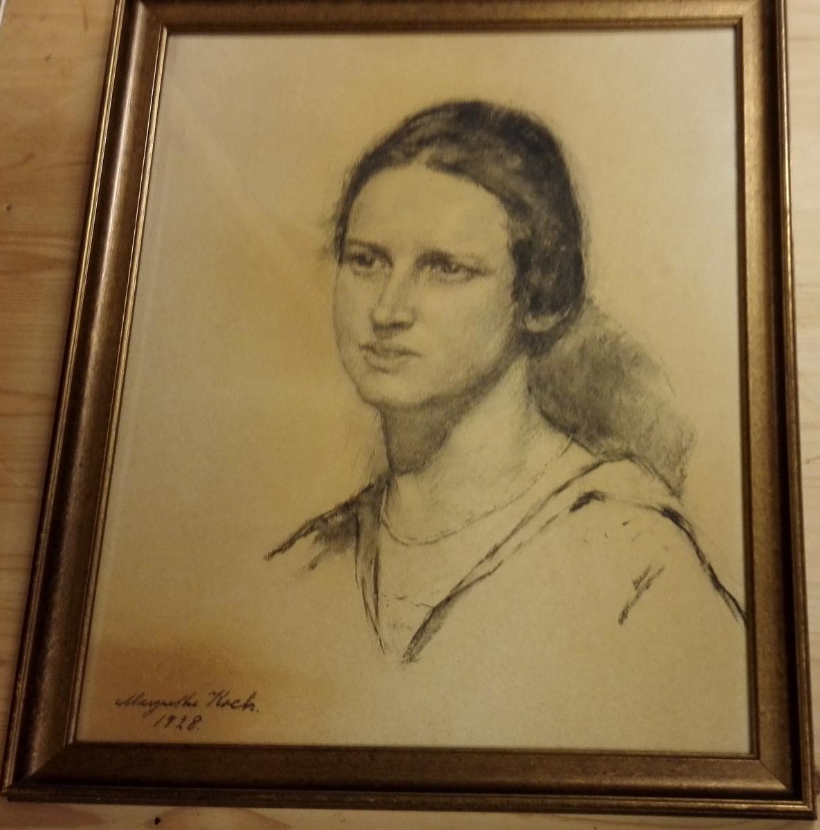 Portrett av gjevaren, 1928.