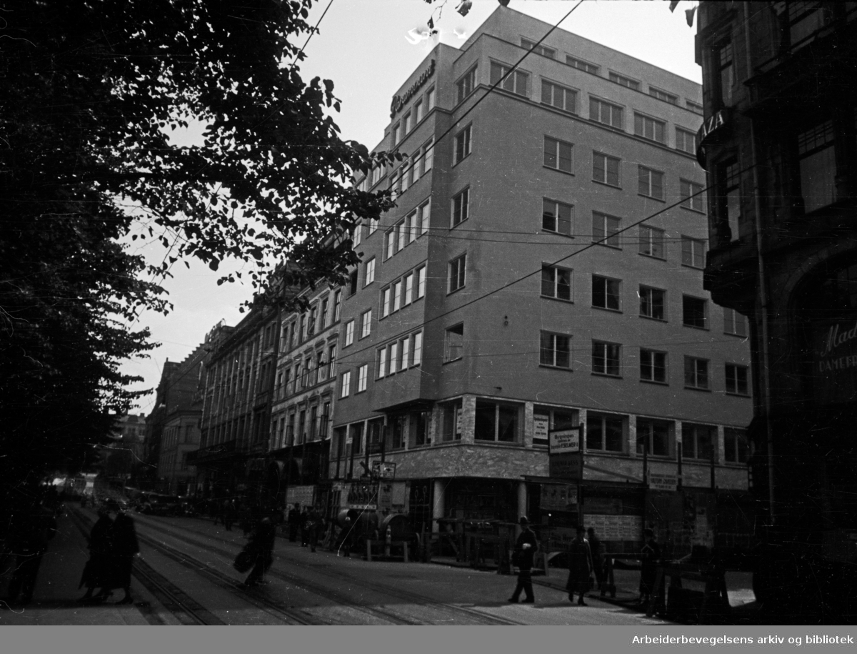 Redernes Hus i Rådhusgata 25. 1939