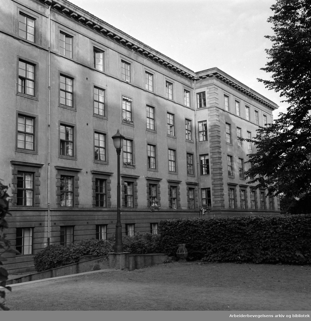 Lovisenberg diakonissesykehus. September 1958