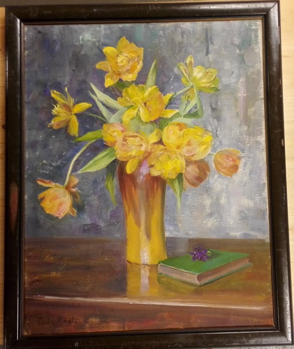 Stilleben - vase med blomster.