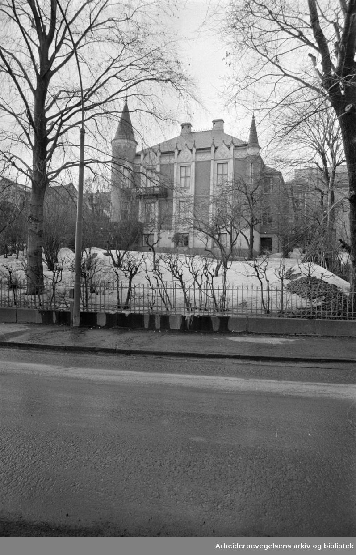 Josefinesgate nr. 13. Mars 1969