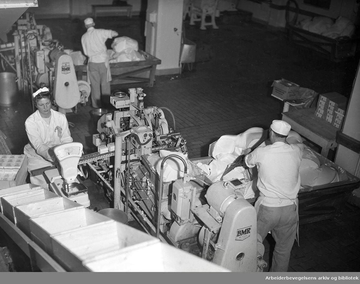 "Margarinfabrikken ""Norge"", 2. desember 1954."