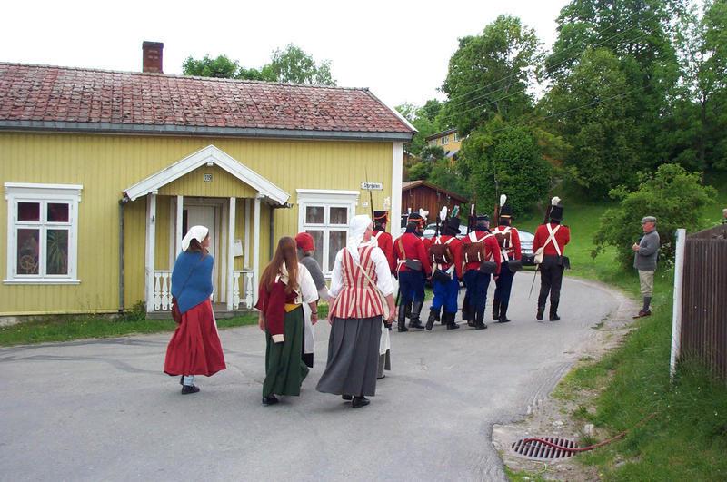 Soldater og marketentersker (Foto/Photo)