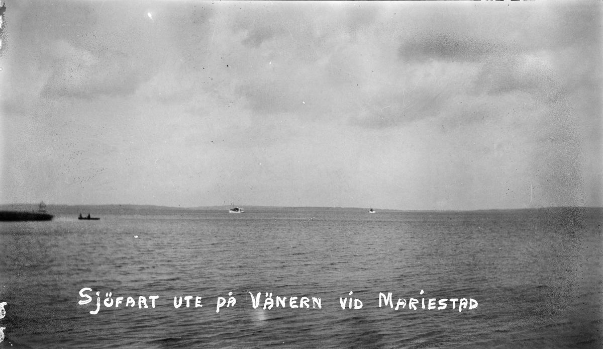 Bilsemester 1928 - Vänern vid Mariestad
