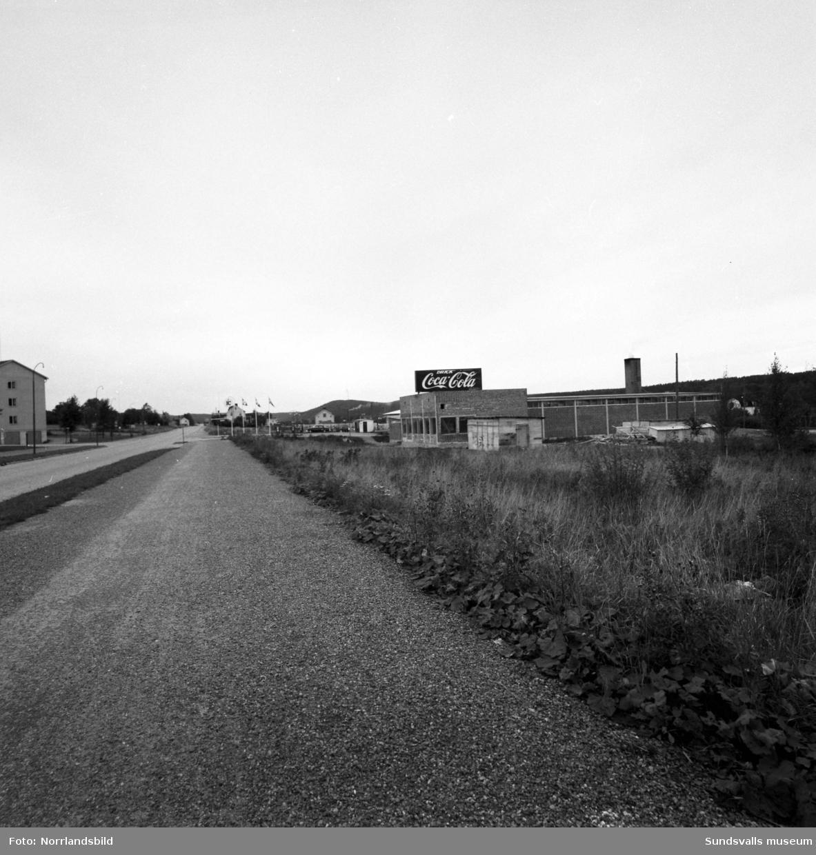 Bilder från det pågående bygget av Coca-Cola-fabriken i Nacksta.