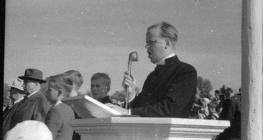 Regementets Dag 1956, A 6, Jönköping. Rocksjövallen. Korum.