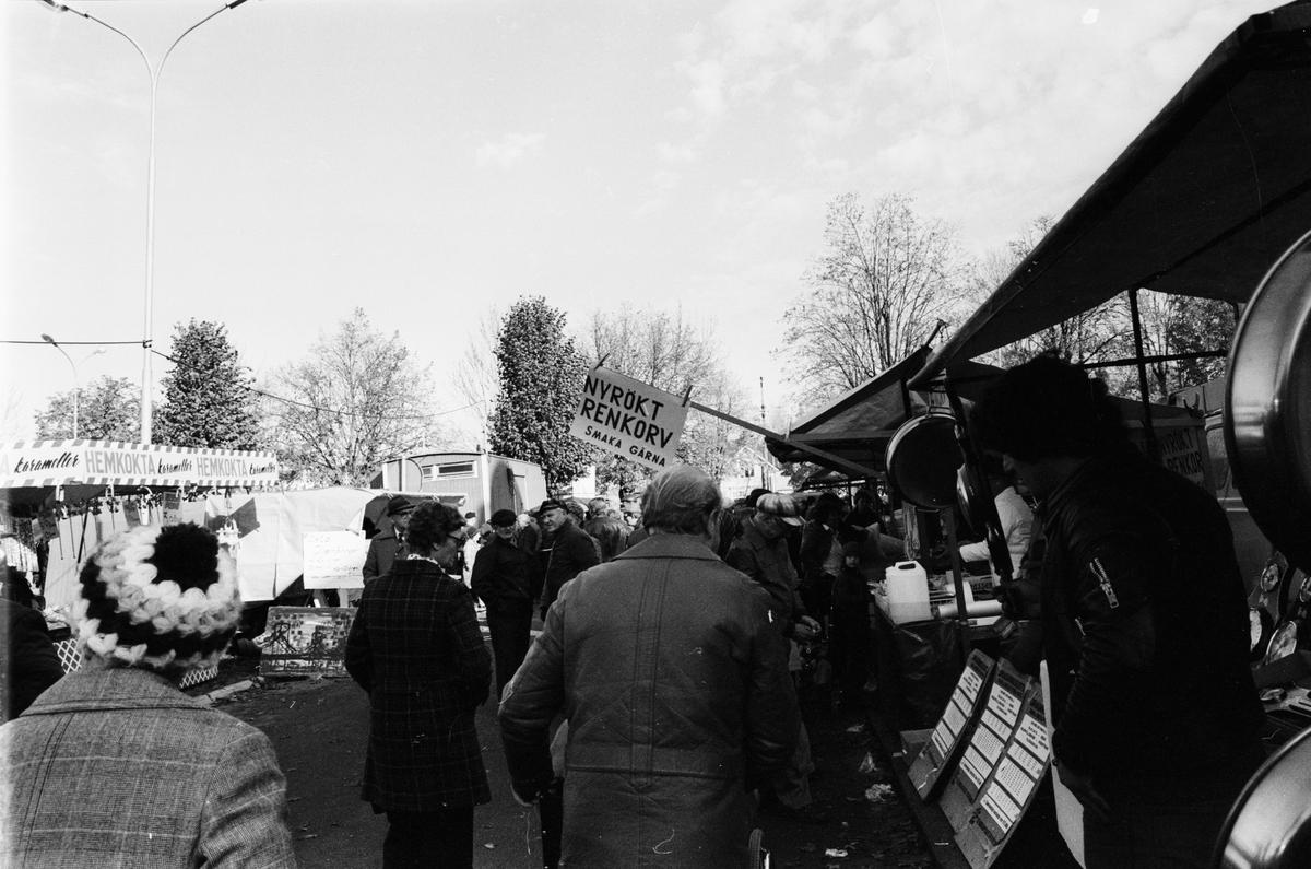 Höstmarknad, Tierp, Uppland