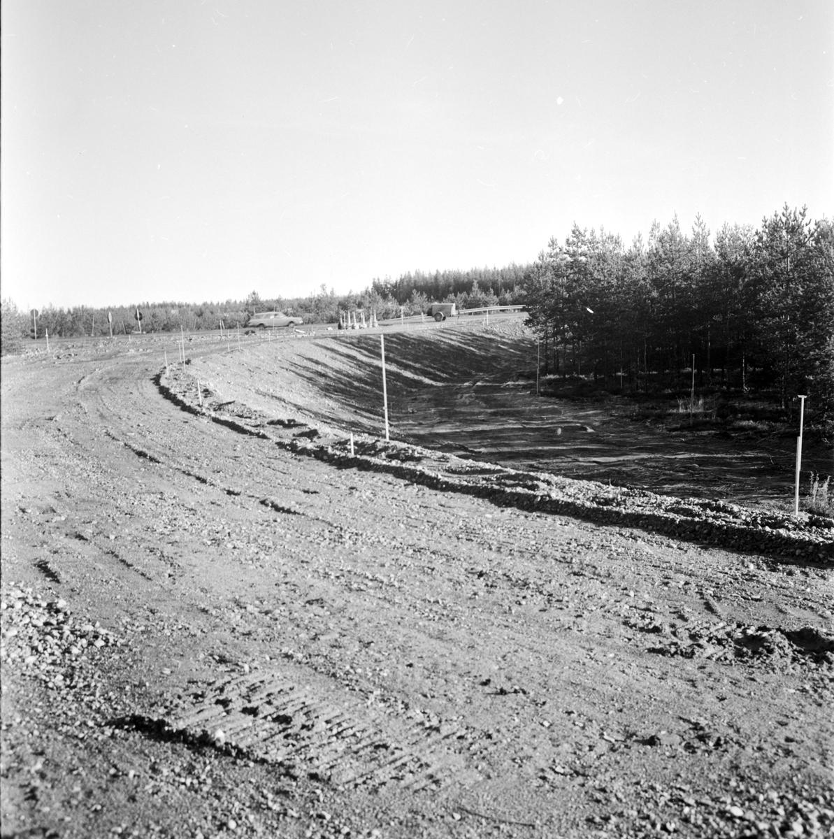 Vägbygge Mehedeby, Tierp socken, Uppland