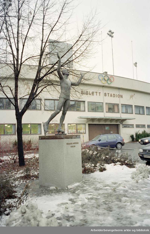 Bislett Bad. 12. januar 1996