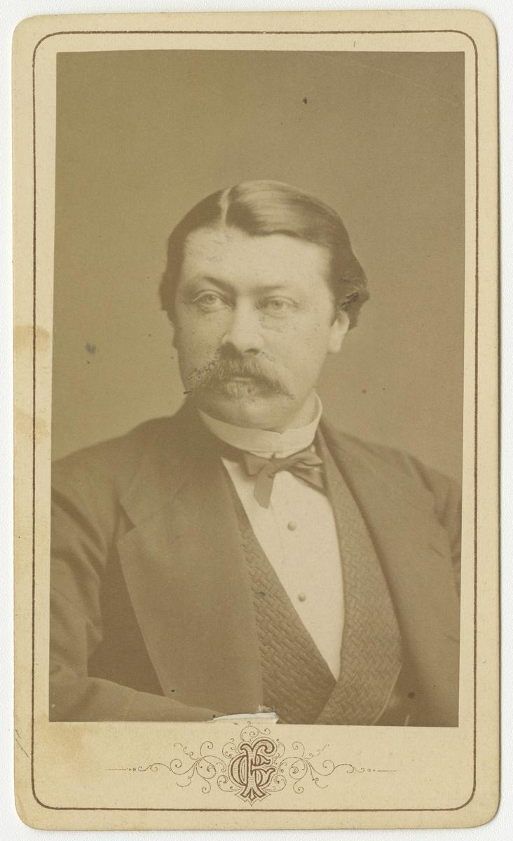 Porträtt av Axel Theodor Lokrantz, officer vid Västgöta regemente I 6.