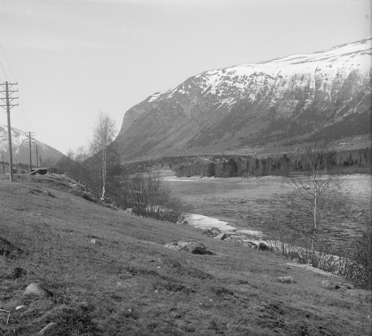 Øyberget i Skjåk, sett fra Nordberg