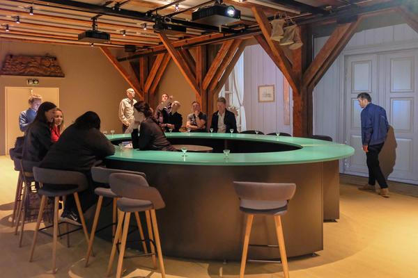 Historiebaren BAR 1567 i Tøihuset, Gamlebyen. Foto/Photo