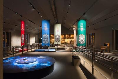 Jubileumsbannerne fra 1966 er en av Borgarsyssels Museums gåter. Ingen husker hvor de har hengt.