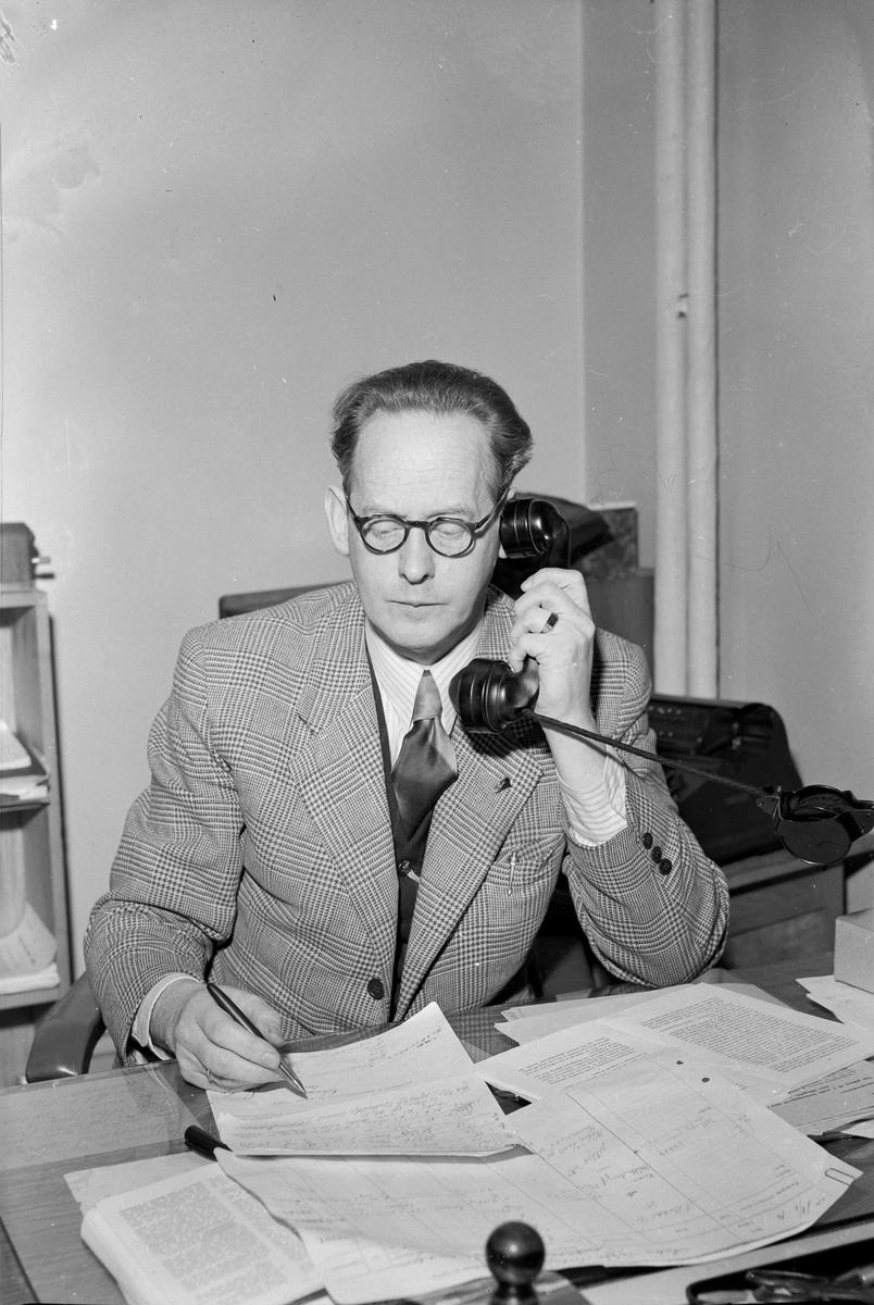 Johan G. Kirksæther på Ligningskontoret