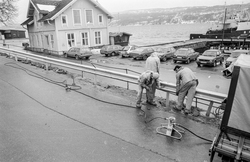 Moderne autovern blir byttet ut med smijernrekkverk i Jørnse