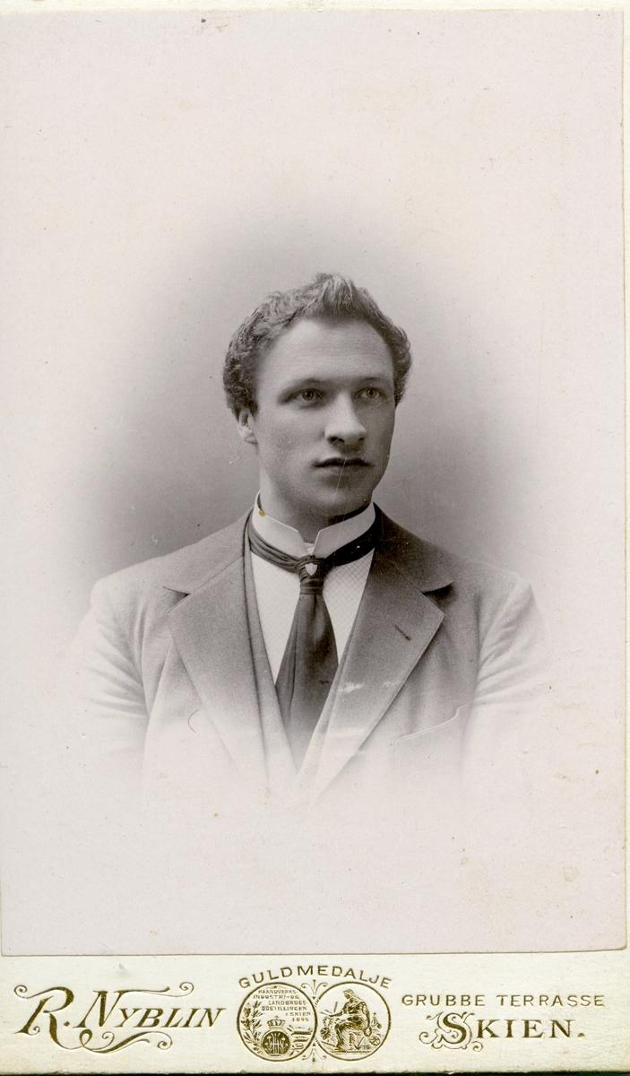 Portrett av en ukjent ung mann