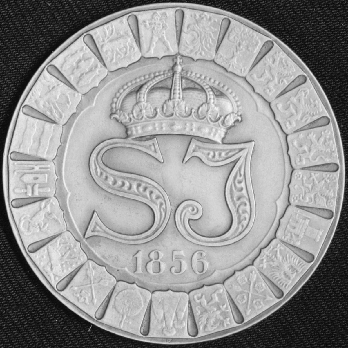 Minnesmedalj SJ 1856 - 1931