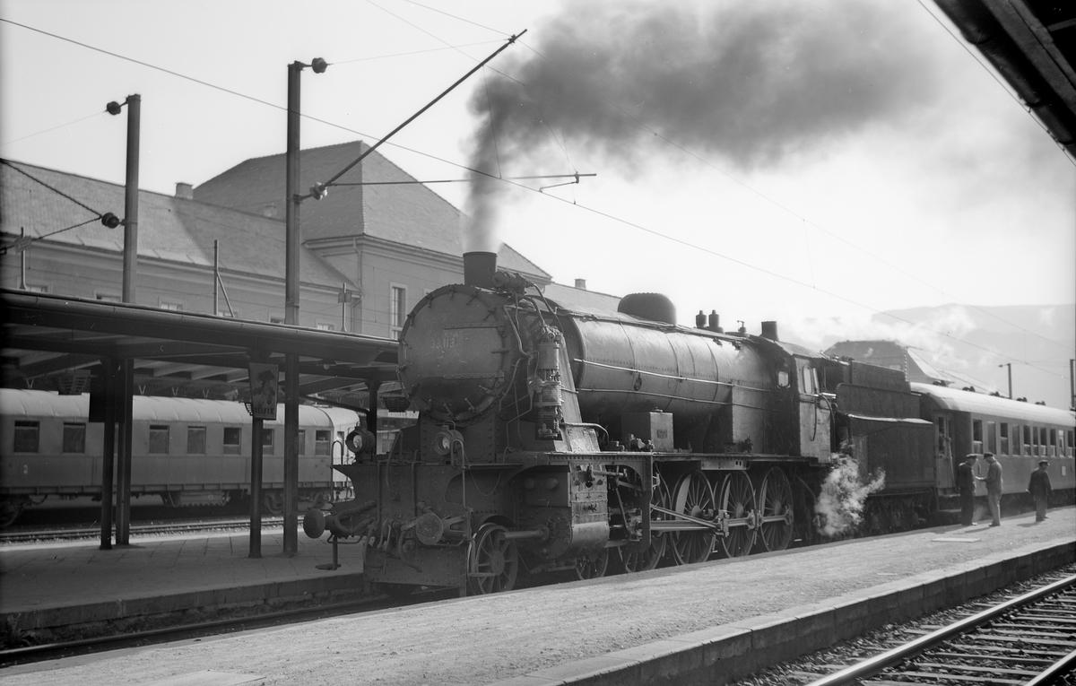 Villach Hbf. Österreichische Bundesbahnen, ÖBB 33 113.