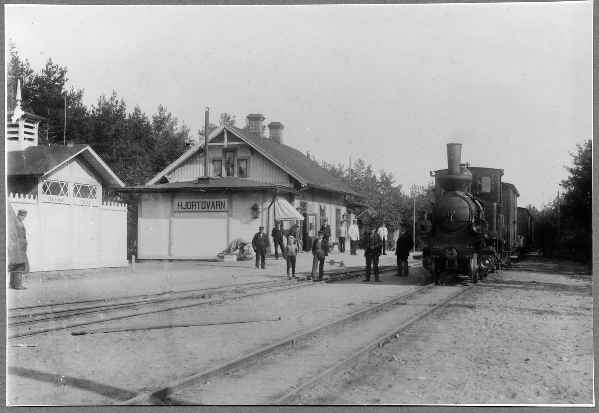Hjortkvarn station.