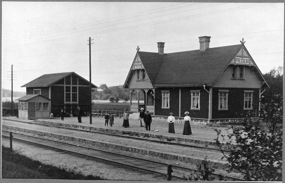 Stationen i Prässebo.