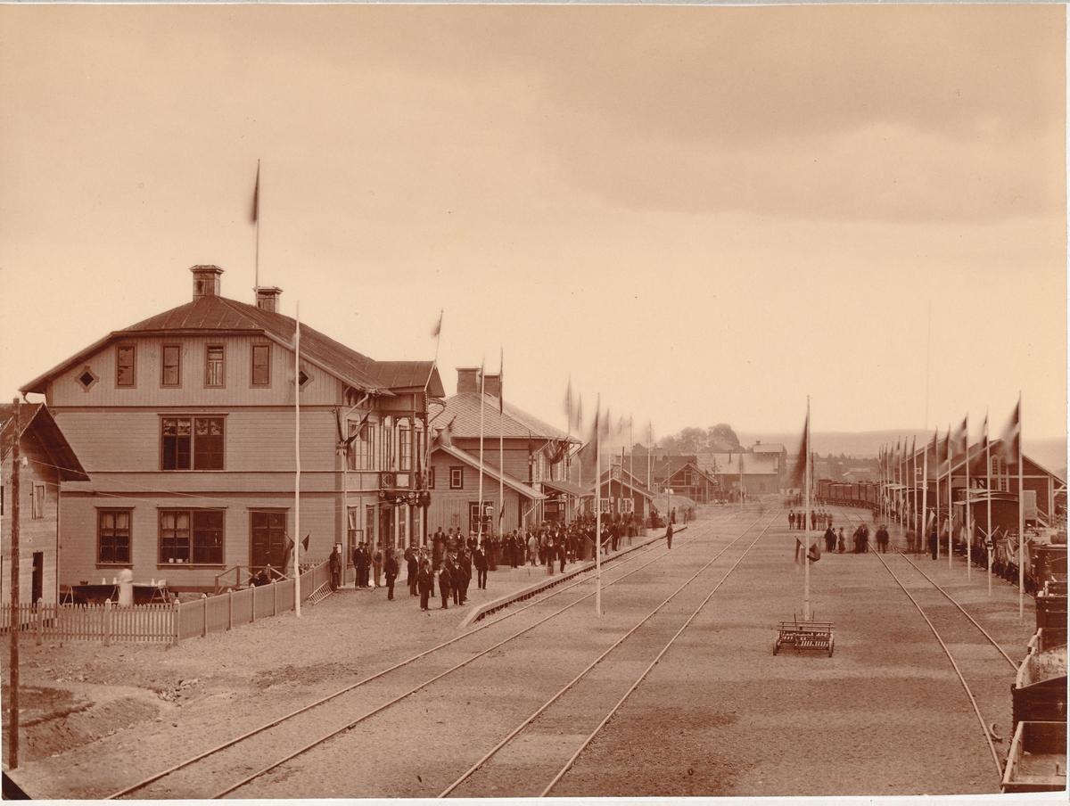 Ljusdal station