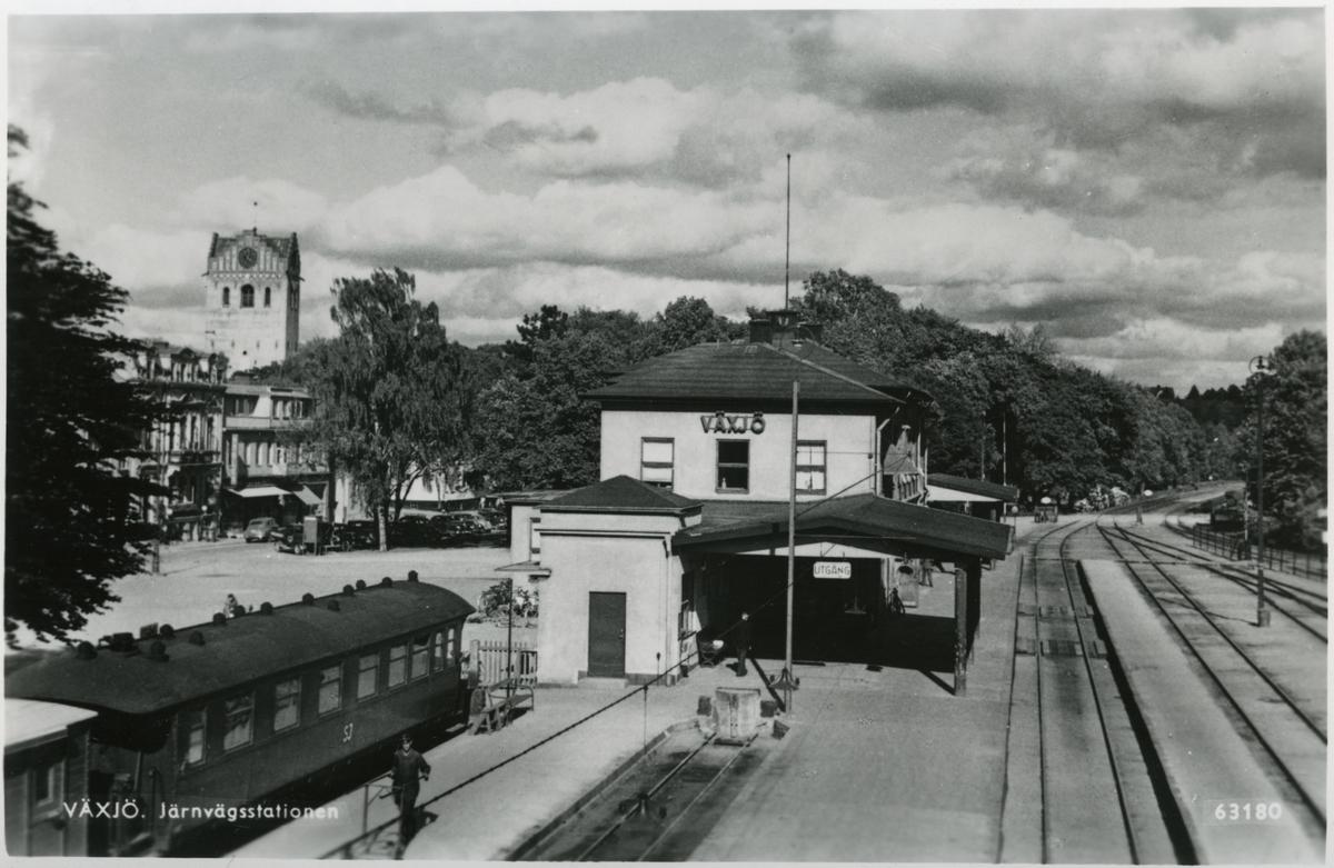 Växjö station.