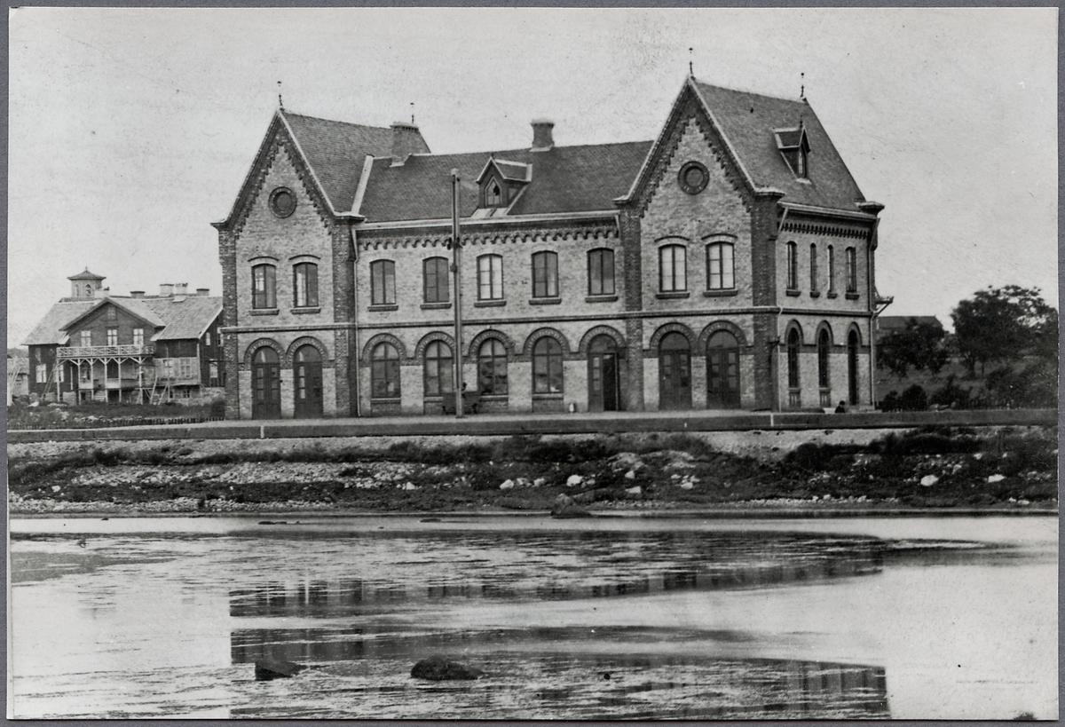 Varberg järnvägsstation.