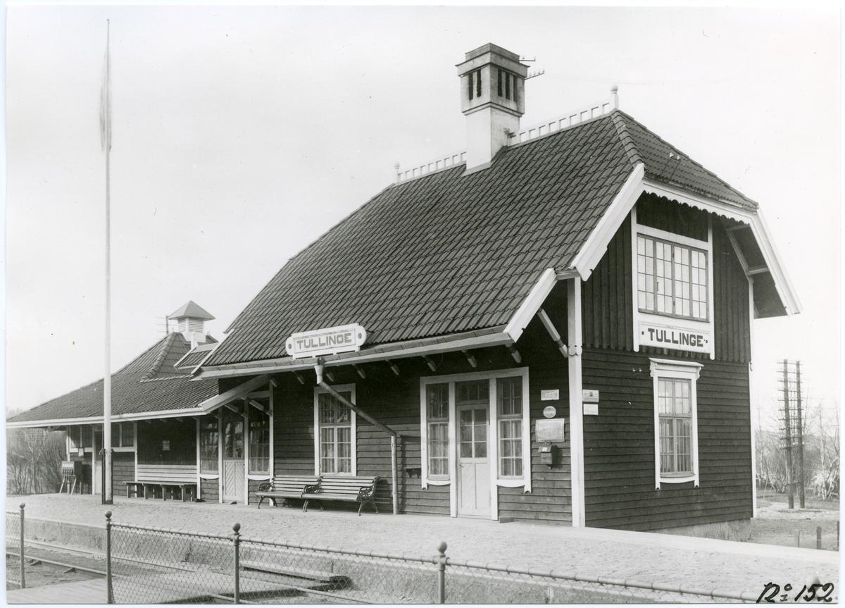 Tullinge station.