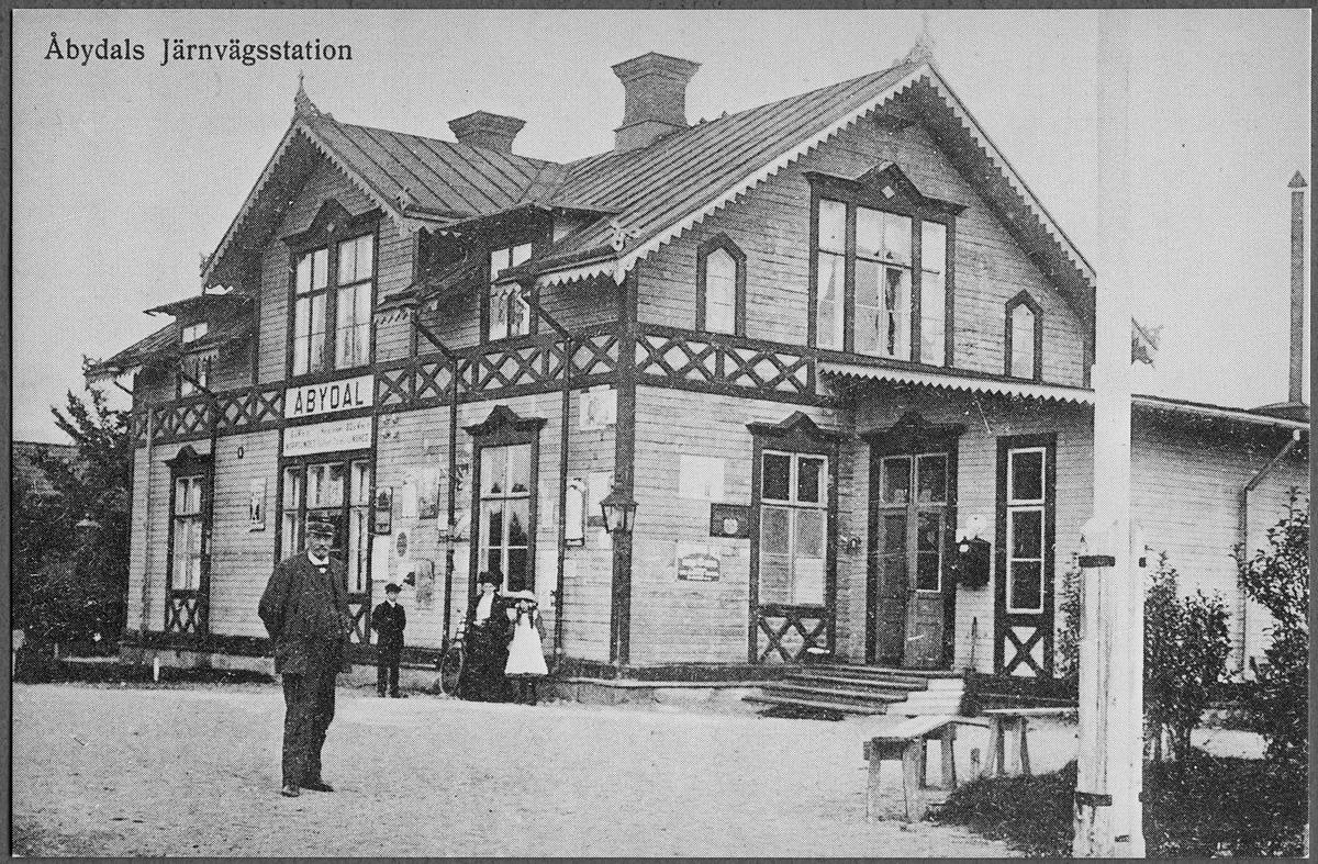 Stationen i Åbydal.