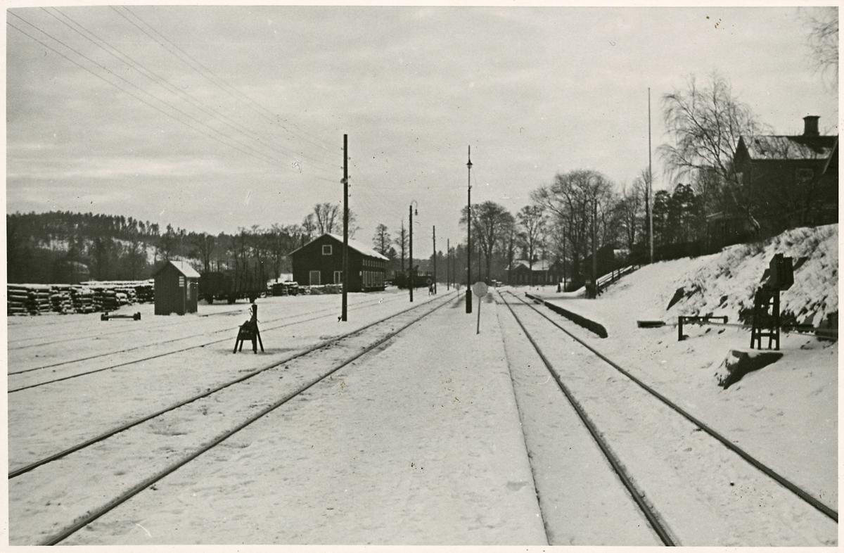 Åkers Styckebruks station.