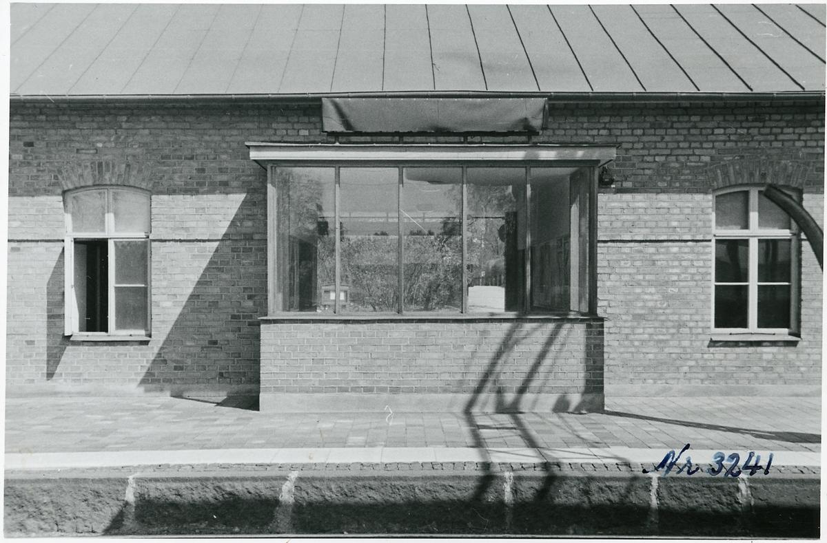 Tureberg stationshus, spårsidan.