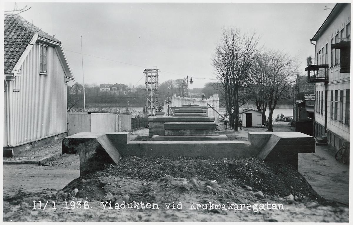 Viadukten vid Krukmakaregatan.