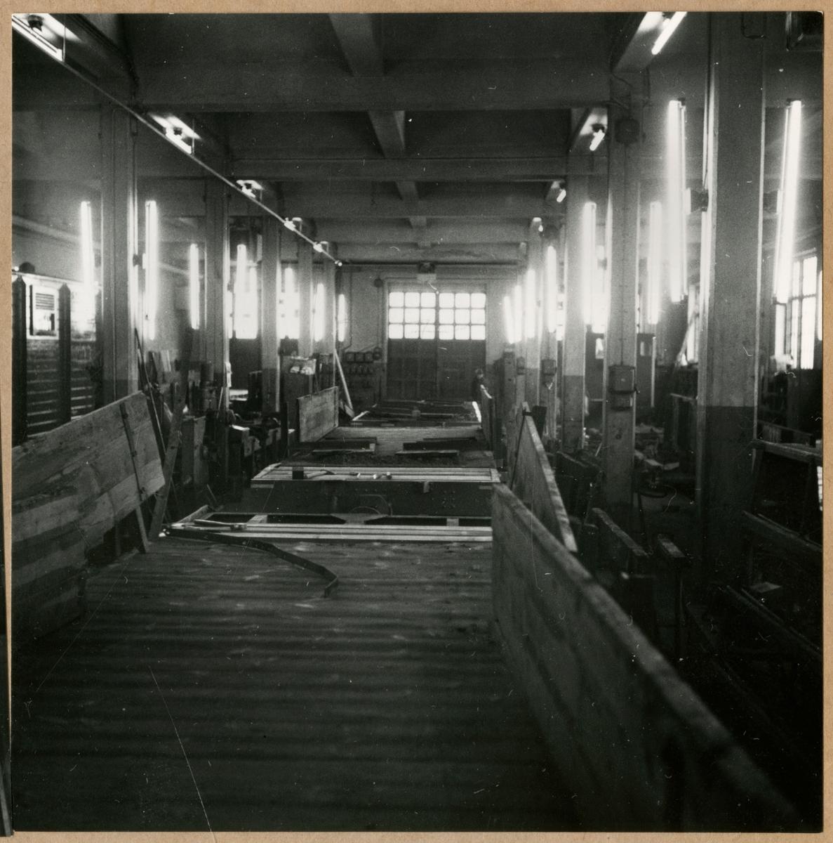 Godsvagnsavdelningen, Mörby verkstad. 39:de driftsektionen.