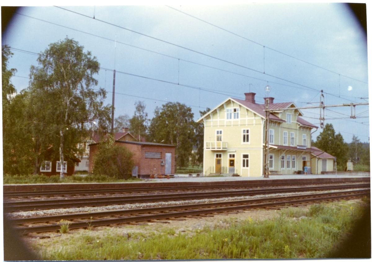 Trehörningsjö station.