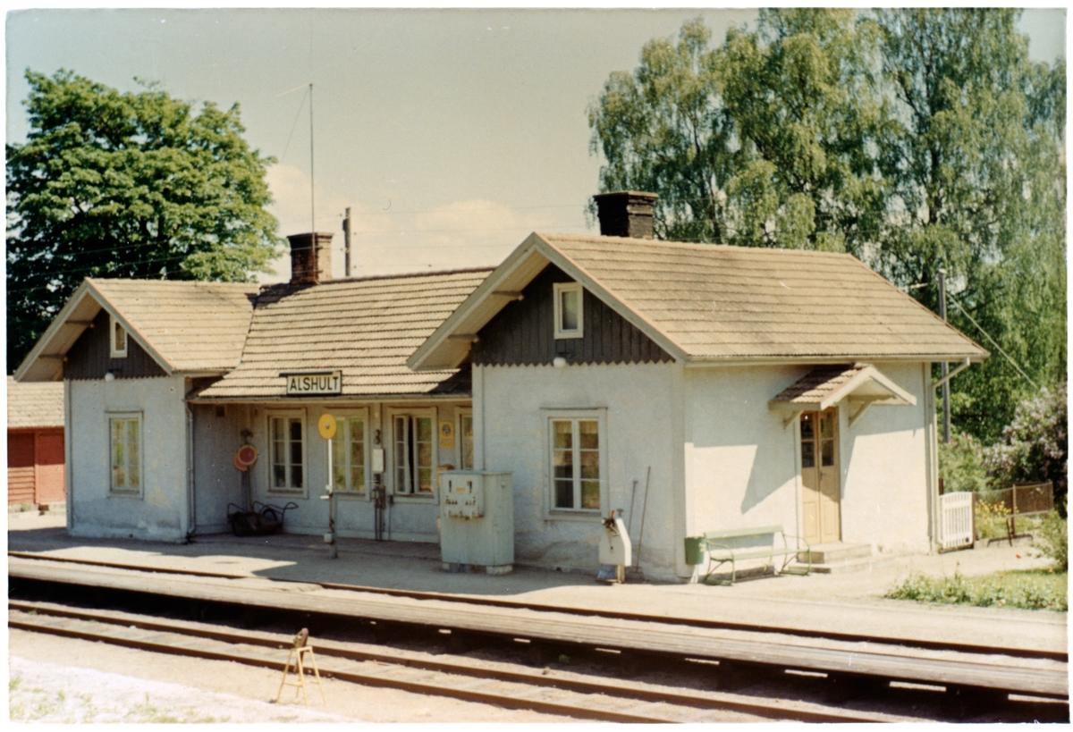 Ålshult station.