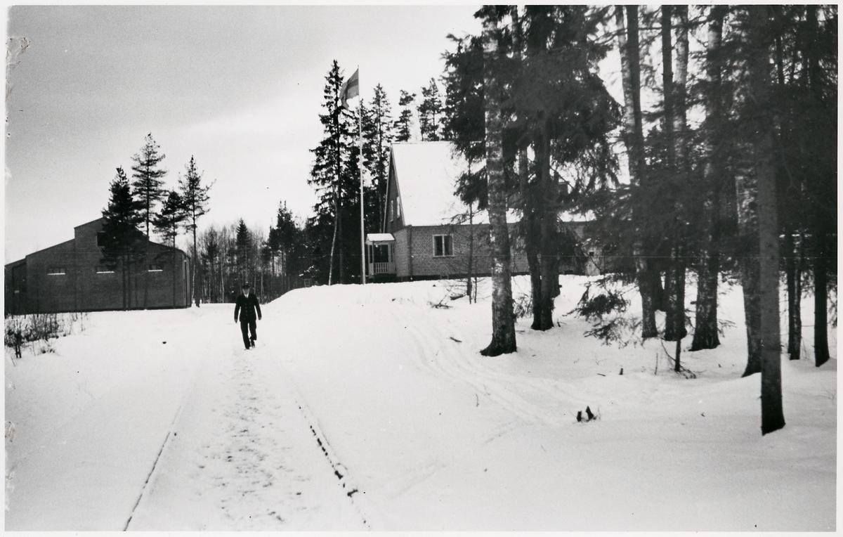 Omformarstation och bostadshus i Kil.