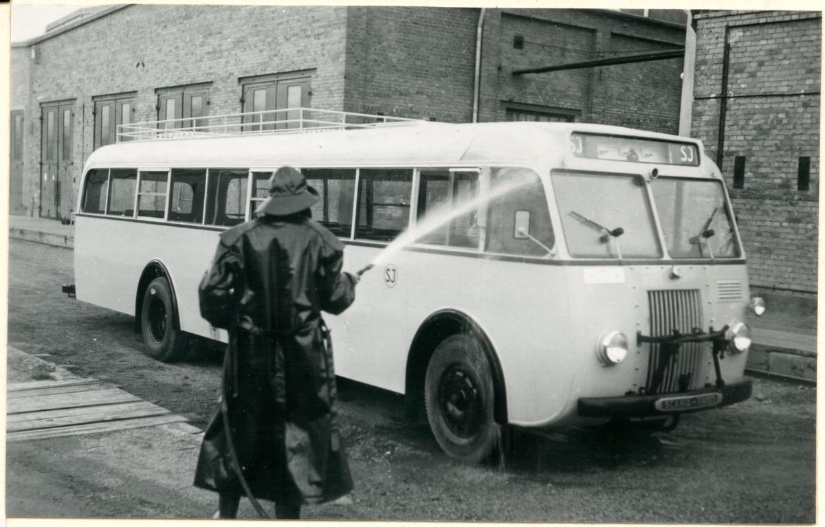 Bussrengöring.