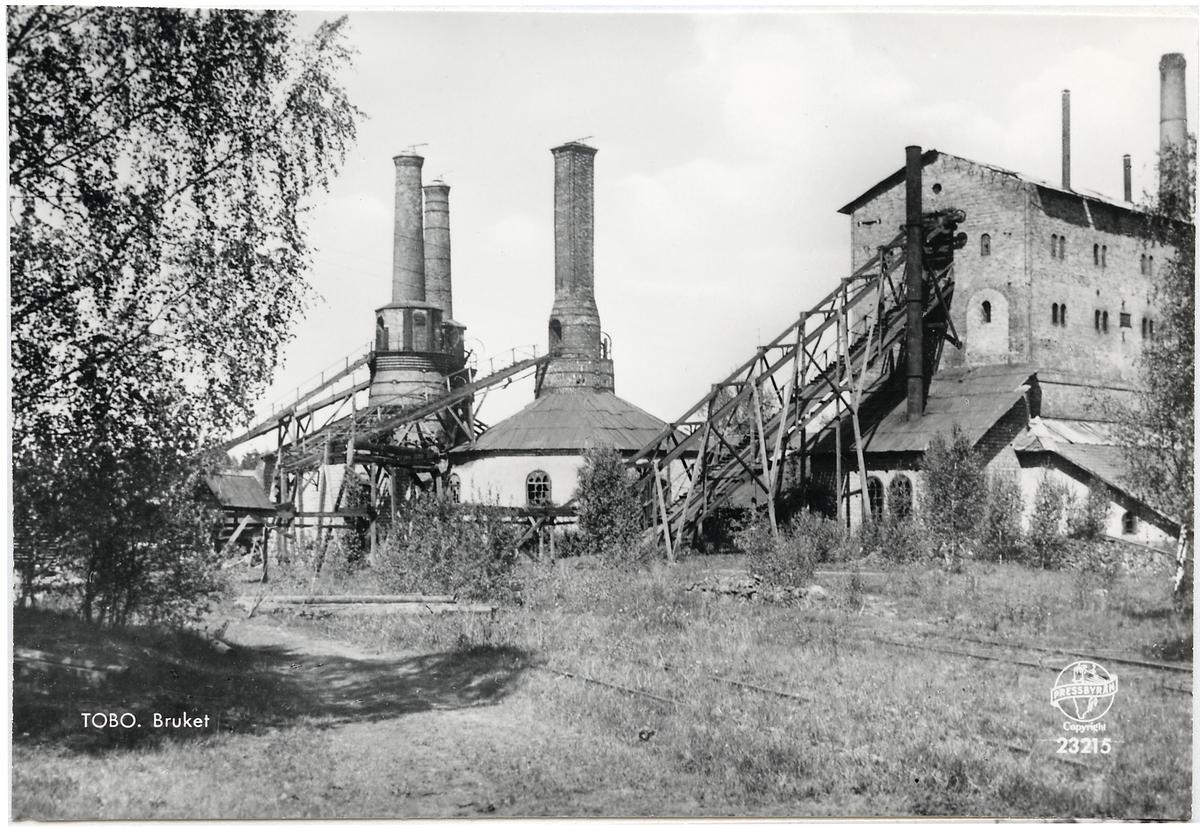 Före detta järnbruket i Tobo.