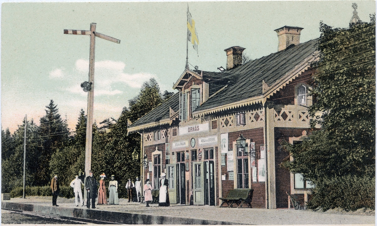 Ornäs station.