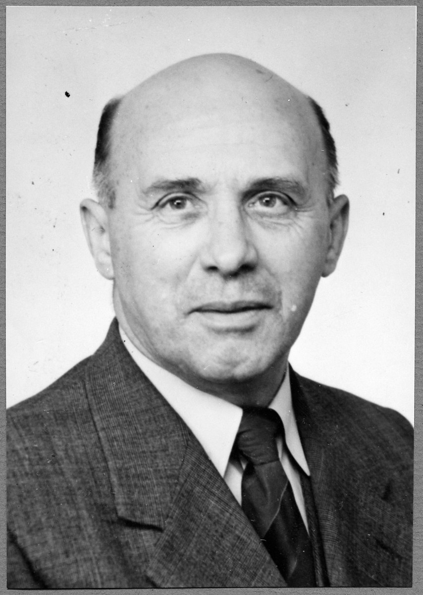 B. W. Blomgren, stationsmästare i Gammelstad 1955 - 1957.