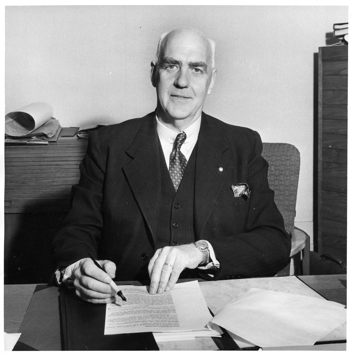 Rudolf Markland, byråchef vid Persontrafikbyrån.