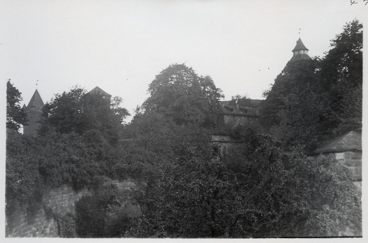 Borgen i Nürnberg.