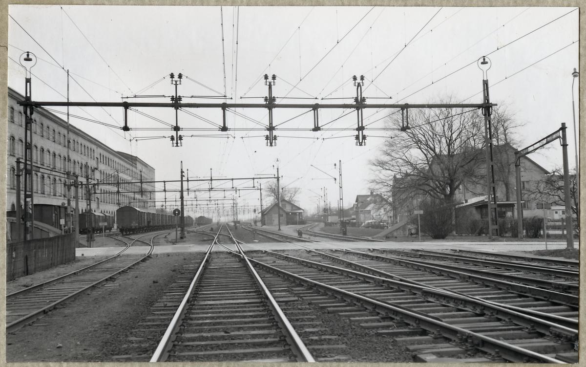 Järnvägsövergång vid Lommavägen i Arlöv, på linjen mellan Arlöv och Lomma.