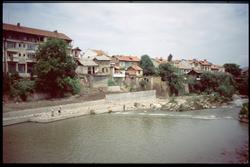 Staden Troyan i Bulgarien.