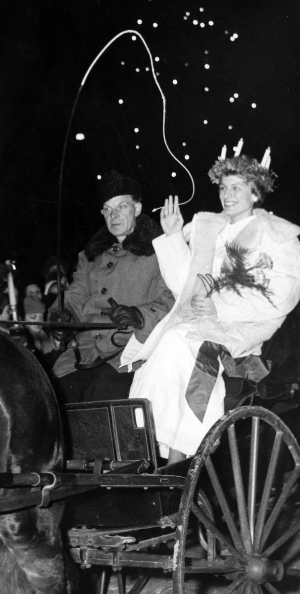 Alingsås Lucia 1952.