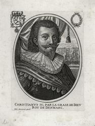 CHRISTIANVS IV, PAR LA GRASE DE DIEV / ROY DE DENMARC. [kobb